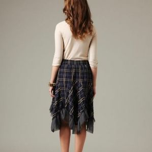 Free People Cabin in the Woods midi skirt L